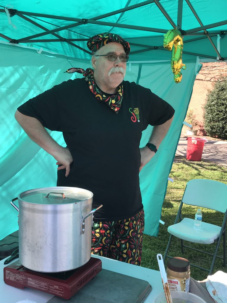 Stirring up something delicious in Nashville, Georgia's Chili Cookoff