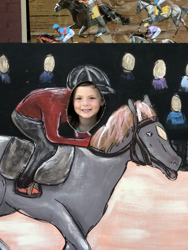 Jockeyin' for position!