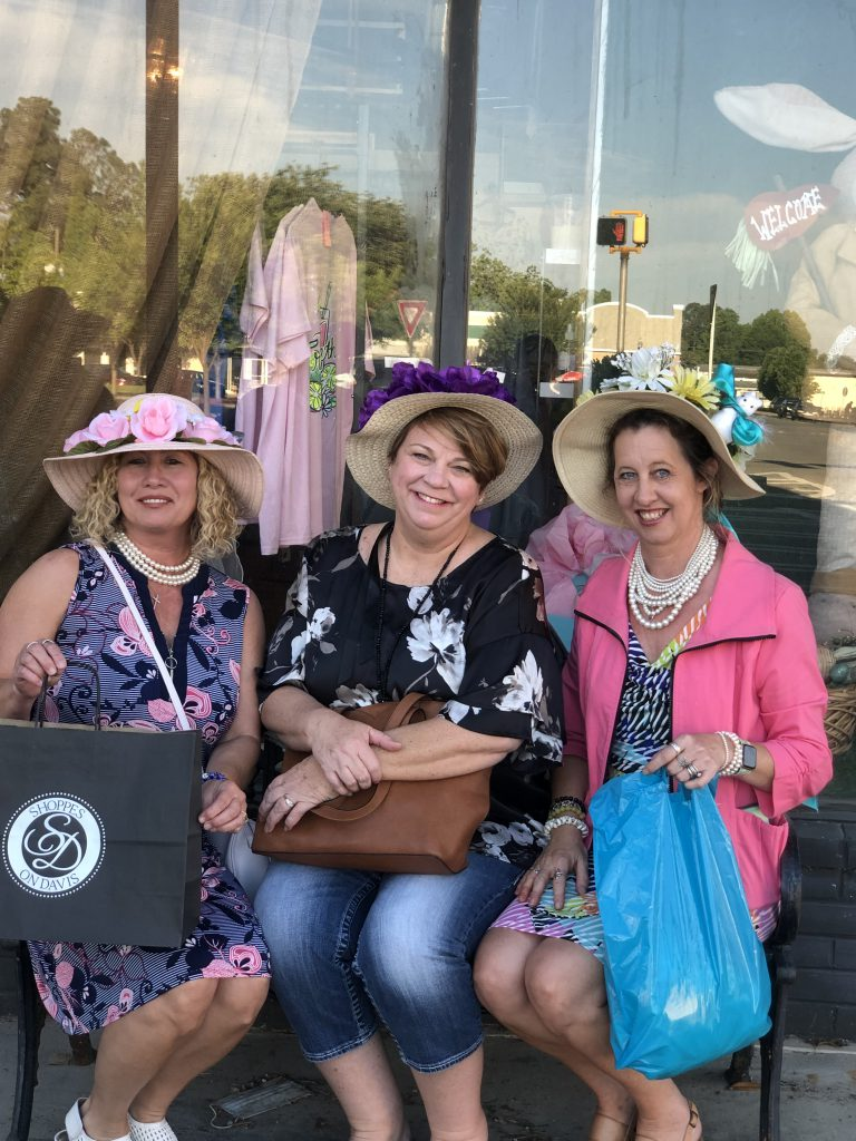 Lovely ladies enjoying the fun at Nashville's Downtown Derby Day